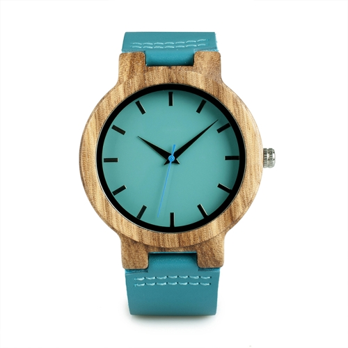BOBOBIRD Fashion Simple Bamboo Men Watches Quartz Wooden Casual Watch Man