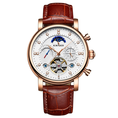 KINYUED Luxury 3ATM Water-Proof Automatic Mechanical Watch