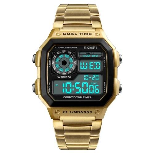 Reloj de hombre de acero inoxidable SKMEI Sport