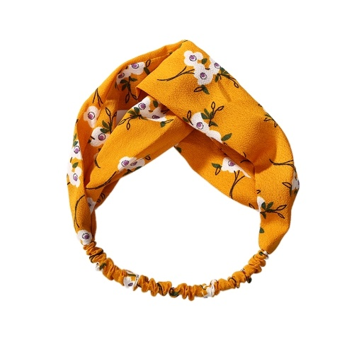 Women Vintage Headbands Elastic Turban Head Wrap Beautiful Lightweight Hair Band Elegant Hairlace
