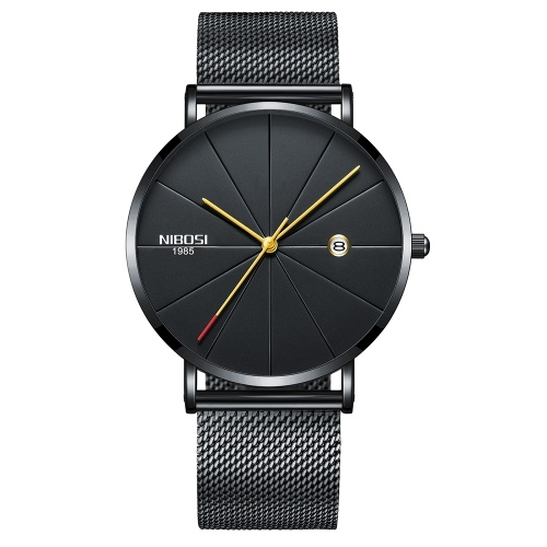 Men Modern Fashion Simple Trend Watch Woman Exquisite College Style Couple Metal Quartz Wrist Watch