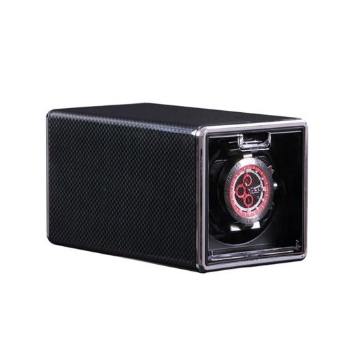1301B Single Watch Winder Box pour montre automatique 3 modes automatique Rotation Winder Rectangle Box muet Remontoirs mécaniques