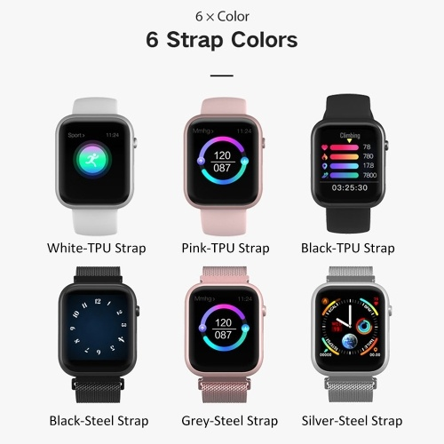 SX16 Smart Bracelet Watch 1.3inch Screen BT4.0 Waterproof Pedometer Calories Alarm Clock Heart Rate Blood Pressure Blood Oxygen Sport Smart Watch for Android 5.0 / iOS 8.0 and above
