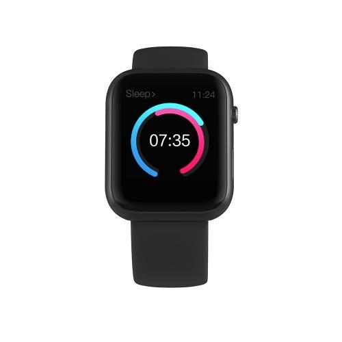SX16 Смарт-Браслет Часы 1.3-дюймовый Экран BT4.0 Водонепроницаемый Шагомер Калорий Будильник Сердечный ритм Артериальное давление Кислород в крови Спорт Смарт-Часы для Android 5.0 / iOS 8.0 и выше
