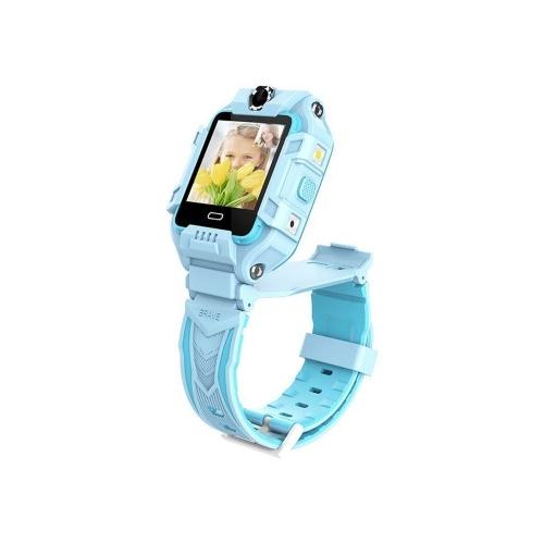LEMFO Y99 1,4-Zoll-IPS-Bildschirm 4G Smartwatch für Kinder - Blue Europe-Africa Verison