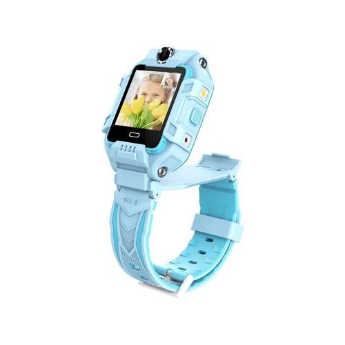 LEMFO Y99 1.4-Inch IPS Screen 4G Children's Smart Watch- Blue Europe-Africa Verison