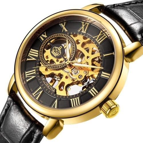Orologio meccanico da uomo con numeri di orologio