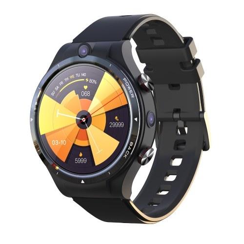 Смарт-часы LEMFO LEM15 с 1,6-дюймовым экраном и IPS-экраном (нано-SIM-карта), 4G, независимый вызов