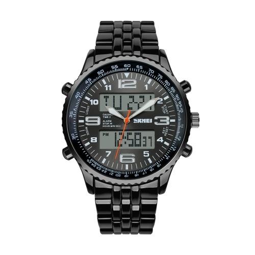 SKMEI Analog-Digital Double Time Display Watch