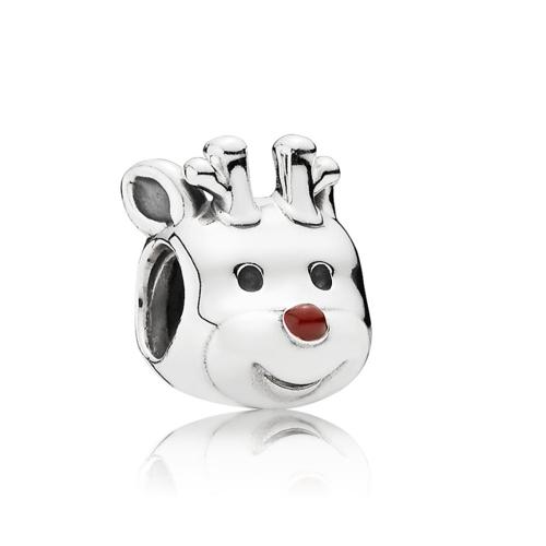 Romacci S925 plata Reno electrochapado grano de 3mm Lucky Charm pulsera DIY mujeres fina joyería