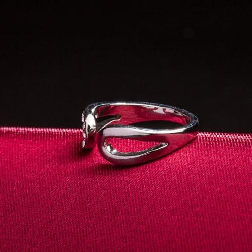 ROXI cristal austriaco clásico apertura anillo
