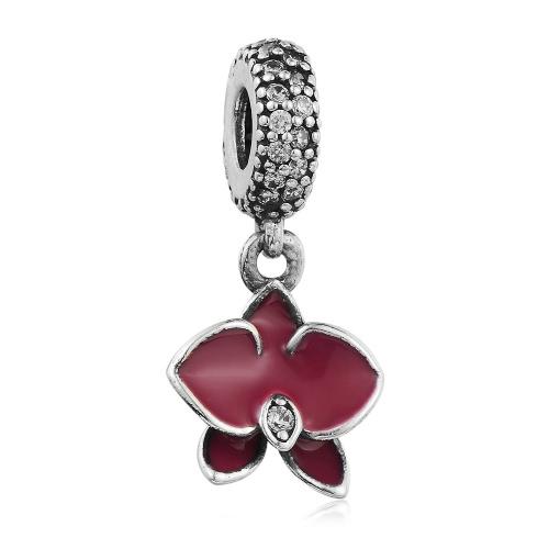 Encantos Romacci la nueva manera de las mujeres S925 colgante de plata de regalo de la cadena pulseras hechas a mano del grano