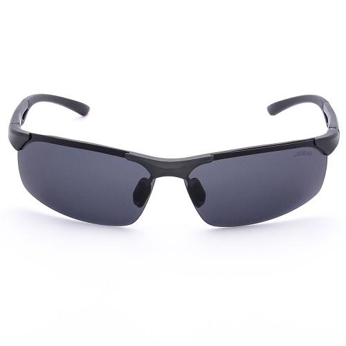 JOGAL Luxury UV400 Gafas de Sol Polarizadas Gafas de Sol Conducción Man Hombre Moda Frameless Ligero Peso Vintage Vintage Magnesium Legs