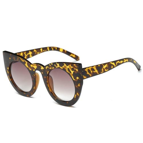 Occhiali da sole rotondi dell'occhio del gatto dell'accessorio delle nuove donne di modo Occhiali di vetro popolari di Euramerican di alta qualità