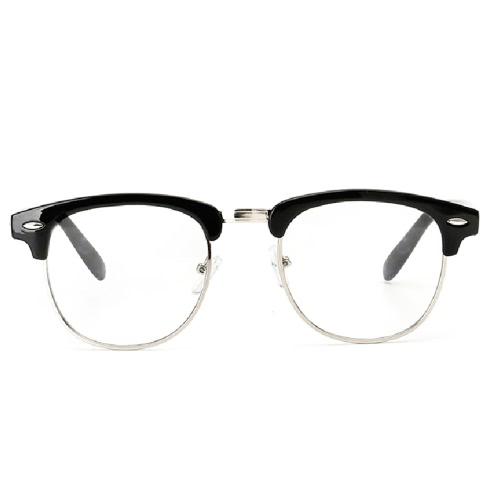 El empollón claro retro de la lente del nuevo diseñador mira la moda para mujer para hombre de los vidrios de los vidrios