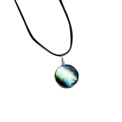 Caliente De Moda De La Joyería De Cristal Estrella Collar Estrella Collar De La Galaxia De La Galaxia Hermoso Hermoso