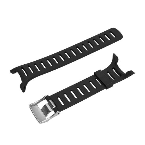 Outdoor Waterproof Rubber Watch Band Men's Watch-strap Steel Buckle with Screwdriver for SUUNTO T1 T1C T3 T3C T3D T4C T4D T Serise