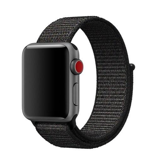 Gancho de nylon deportivo y correa de bucle correa para reloj de Apple 4/3/2