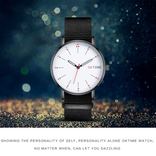 Fashion Ultra Simple Couple Quartz Watch Casual Elegant Unisex Analog Wristwatch