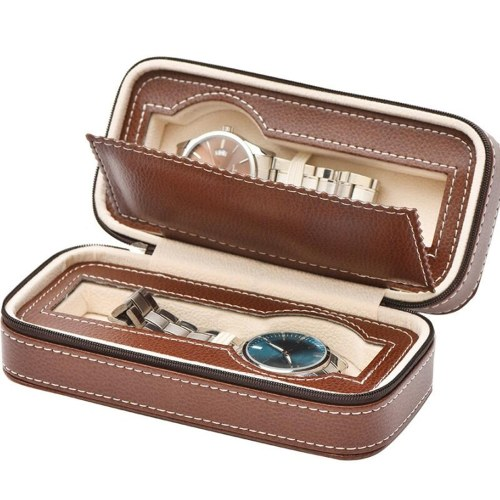 Portable 2/4/8 Grids Travel Watch Box