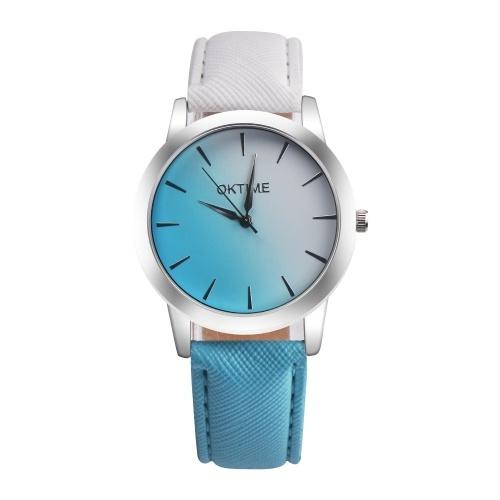Elegante orologio a contrasto di colore