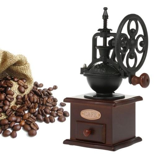 Moedor de café antigo moinho de café manual