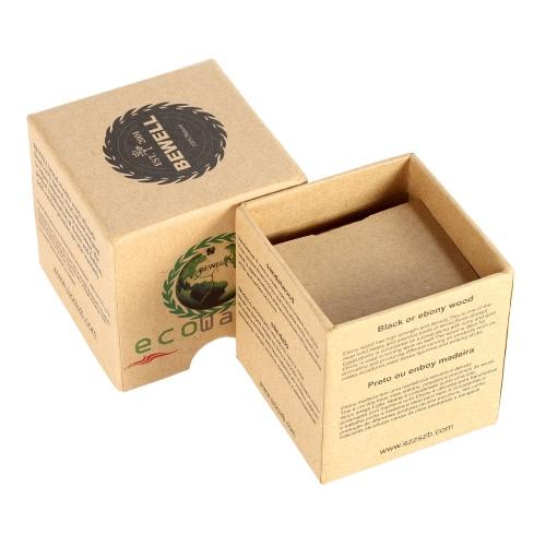 Bewell Mini Square Cardboard Watch Box Wristwatch Case Cute Jewelry Box Gift Box Multifunctional Storage Box