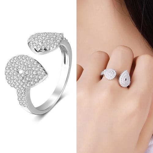 JURE 925 Серебряное кольцо Цирконий Свадебное обручальное кольцо Предложение Люкс Halo Замена фото