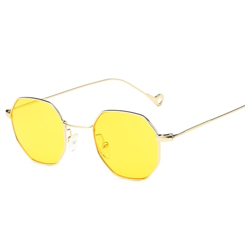 New Fashion Accessory UV400 Popular Small Pane Shape High Quality Unisex Plain Glass Spectacles