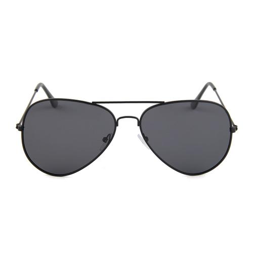 Gafas de sol con estilo del aviador de la manera polarizada de la película de color del marco del metal UV400 Hombres Lente Gafas de sol