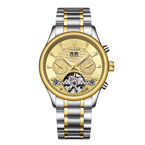 TEVISE Luminous Luxury Automatic Mechanical Watch
