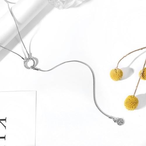 Mode-Multi-Layer-Anhänger Schlüsselbein Kette lange Halskette verschiedenen Längen Schmuck-Set für Frauen
