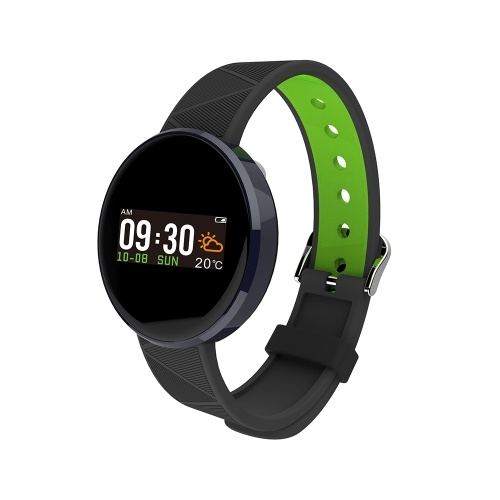 S12 Smart Bracelet Sport Watch Heart Rate Sleep Monitor with OLED Screen Fitness Tracker Touch Pad Blood Pressure Smart Band J3052-3