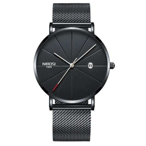Männer Moderne Mode Einfachen Trend Uhr Frau Exquisite College Style Paar Metall Quarz-armbanduhr