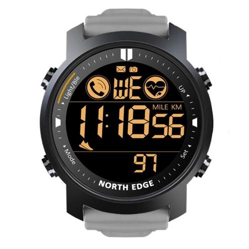 Sports de plein air montre intelligente longue veille Bluetooth fréquence cardiaque étanche montre intelligente multifonctionnelle noir