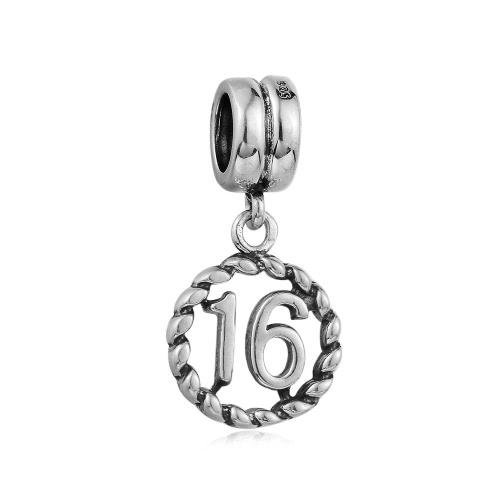 Romacci S925 Nueva caliente pendiente de diseño de moda joyería encantadora para el regalo de las mujeres chicas haciendo pulsera de cadena