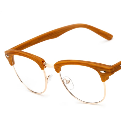 7f5ab9e7a0ae ... New Designer Retro Clear Lens Nerd Frames Glasses Mens Womens