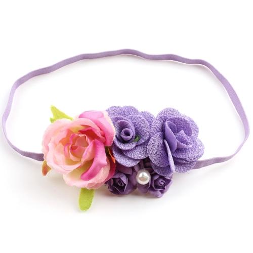 Los nuevos niños hermoso cabello corona diadema diadema Hairband para niñas playa Photo Prop