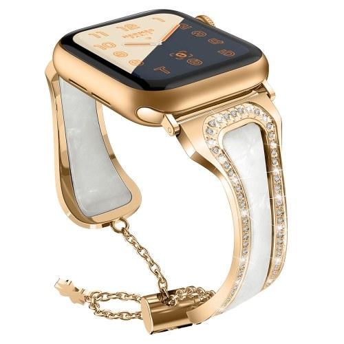 Metal Stainless Steel Resin Wrist Strap Watchband