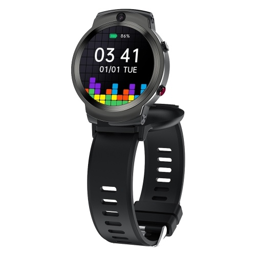 DOMIWEAR DM28 1,6 '' 4G Smart Watch Sportarmband mit SIM-Karte 3 GB + 32 GB Steckplatz