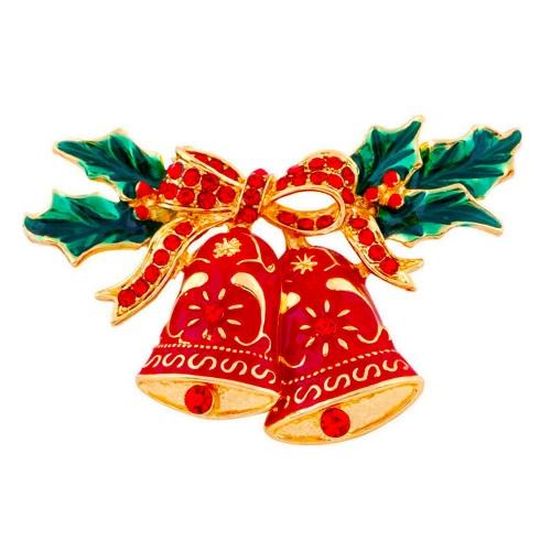 La nueva manera brillante de cristal broche del Rhinestone Collar de Clip Contacto de ropa accesorios joyería de la bufanda hebilla de celebración de días festivos regalo