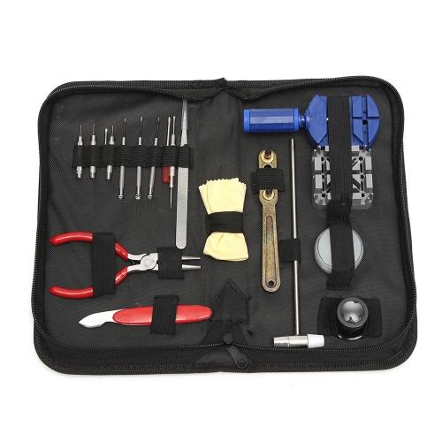 19 w 1 Watch Repair Tool Kit Watch Band Wymiana Opener Watch Narzędzie do usuwania paska zegarka
