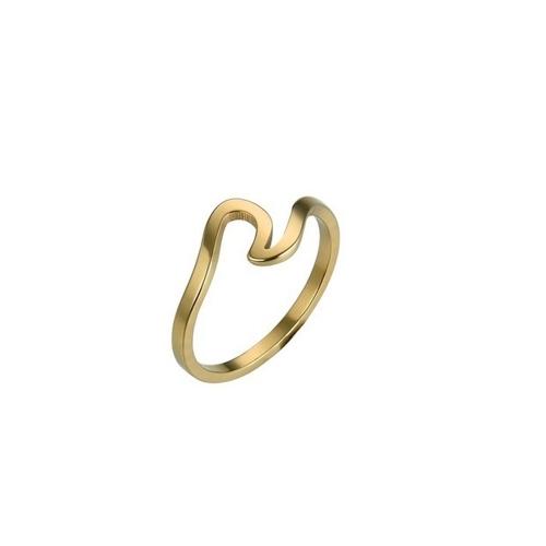 Art der Wellen Spindrift Ringe unregelmäßige schlanke Mode Persönlichkeit kreative gemeinsame Schwanz Ring Zubehör von Frauen und Mädchen