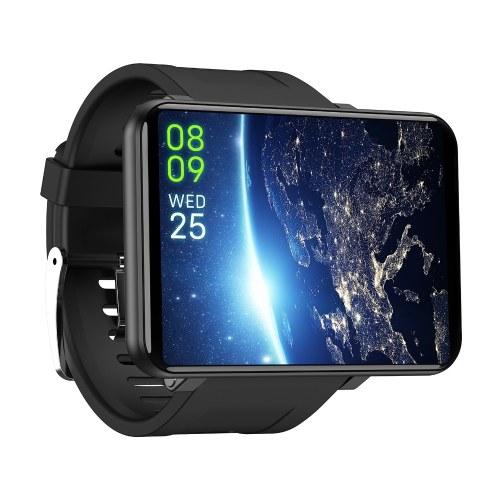 DOMIWEAR DM100 2.86 '' 4G Smart Watch mit SIM-Kartensteckplatz - Schwarz, 1 GB + 16 GB