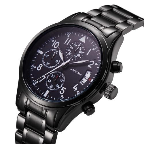 SINOBI Fashion Casual Quartz Watch