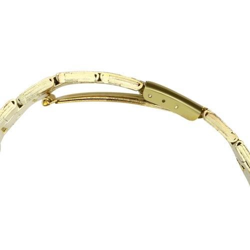 Image of Brand Leisure Fashion Quartz Gentleman Steel Band Analog Quartz Sport Wrist Watch