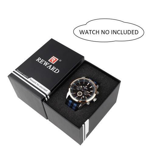 Watch Box Watch Case Держатель для Часов Органайзер для Часовых Часов Профессиональные Коробки для Ювелирных Изделий Case Watch Storage Storage Tray for Men & Women