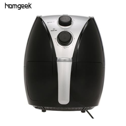Homgeek空気フライヤー家庭用オイルレス電気フライヤー