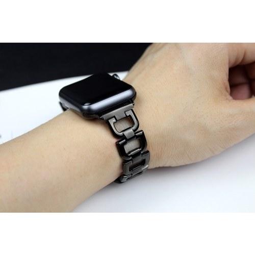 Uhrenarmband Smart Watch Metallarmband Edelstahlarmband für Apple Watch 1/2/3