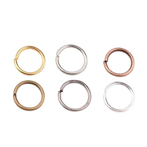 1 Kasten 6 Farben Über 1800Pcs springen Ringe 6mm Durchmesser Schmuck Halskette Armband machen Zubehör